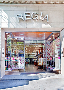 Perfumería Regia, Passeig de Gràcia, 39