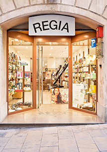 Perfumería Regia, Major de Sarrià, 93