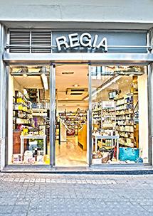 Perfumería Regia, Muntaner, 242